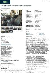 Land Rover Discovery 3 TDV6... - Sales Auto Klub