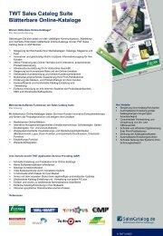 TWT Sales Catalog Suite Blätterbare Online ... - SalesCatalog.de