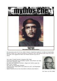 Che Guevara - Esoterik heisst: Neues Denken, neues Leben