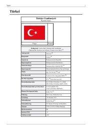Geschichte und Entwicklung der Türkei