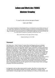 Leben und Werk des Tieres (A.Crowley)