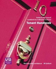 Tenant Handbook - Salford City Council