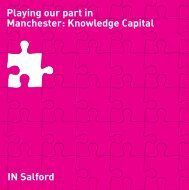 Knowledge Capital - Salford City Council