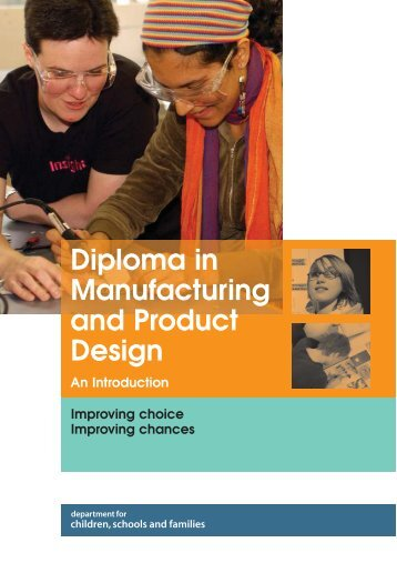 Diploma in Manufacturing and Product Design - Digital Education ...