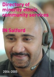bme directory2004-2005 - Salford City Council