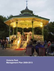 Victoria Park Management Plan 2009-2013 - Salford City Council