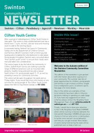 Swinton Community Newsletter Autumn 2009 - Salford City Council