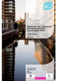 Manchester, Salford and Trafford Level 2 SFRA, March 2011