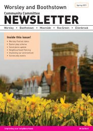 Worsley and Boothstown Spring 2011 Newsletter - Salford City ...