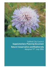 Nature conservation and biodiversity SPD - Salford City Council