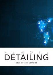 Neue Wege im Vertrieb - Remote Detailing