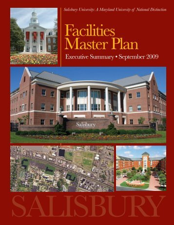 Facilities Master Plan - Salisbury University