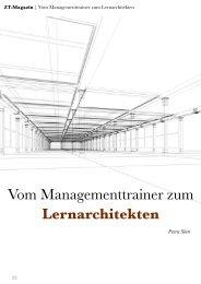 Vom Managementtrainer zum Lernarchitekten