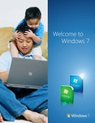Welcome to Windows 7