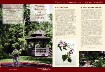 University Arboretum and Sculpture Collection University Arboretum ...