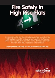 Fire Safety in High Rise Flats (Adobe pdf 3.67MB) - Salix Homes