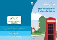 4 How to contact us & where to find us - Salix Homes