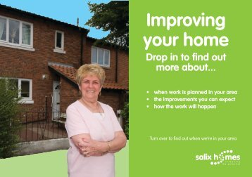 Improving your home - Salix Homes
