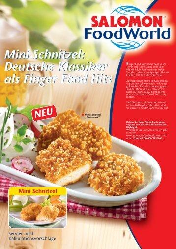 Mini Schnitzel