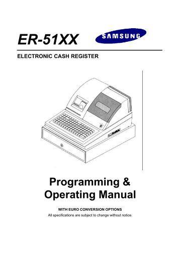 electronic cash register model er-a320