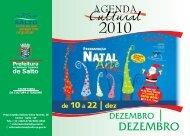 DEZEMBRO - Prefeitura da Estância Turística de Salto