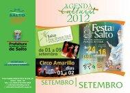 SETEMBRO - Prefeitura da Estância Turística de Salto
