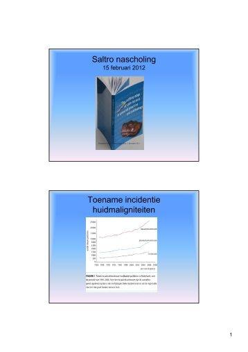 Kijk op de rol van de huisarts bij huidafwijkingen - Saltro