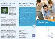 Fit im Job - Informationszentrale Deutsches Mineralwasser
