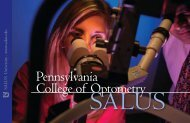 Admissions Brochure PDF - Salus University