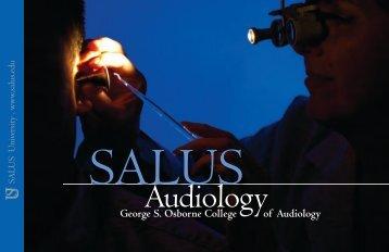 Audiology - Salus University