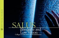 Admission Brochure - Salus University