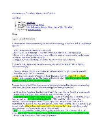 Agenda/Minutes - Salus University