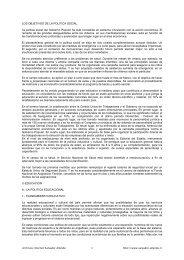 LOS OBJETIVOS DE LA POLITICA SOCIAL - Salvador Allende