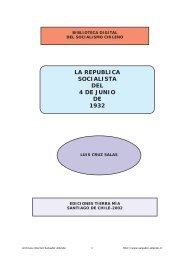 República Socialista - Salvador Allende