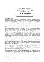 Ricos y Pobres - Salvador Allende