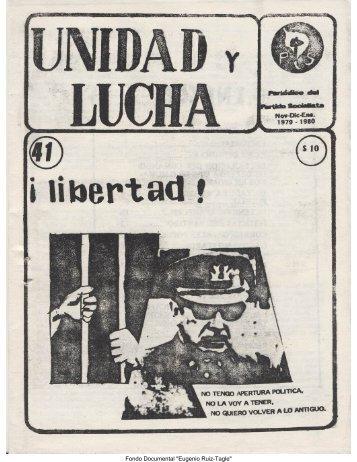Unidad y Lucha N°41 - Salvador Allende