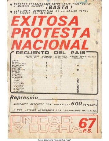 Unidad y Lucha N°67 - Salvador Allende