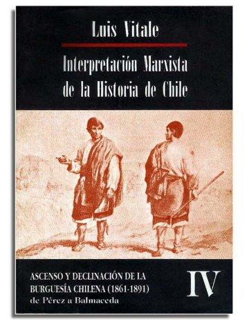 Interpretación marxista de la historia de Chile ... - Salvador Allende