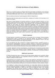 El Partido Socialista es el Pueblo Militante - Salvador Allende