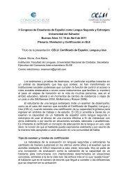 Examen CELU - Universidad del Salvador