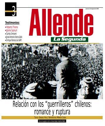 Allende 3- La Segunda - Salvador Allende
