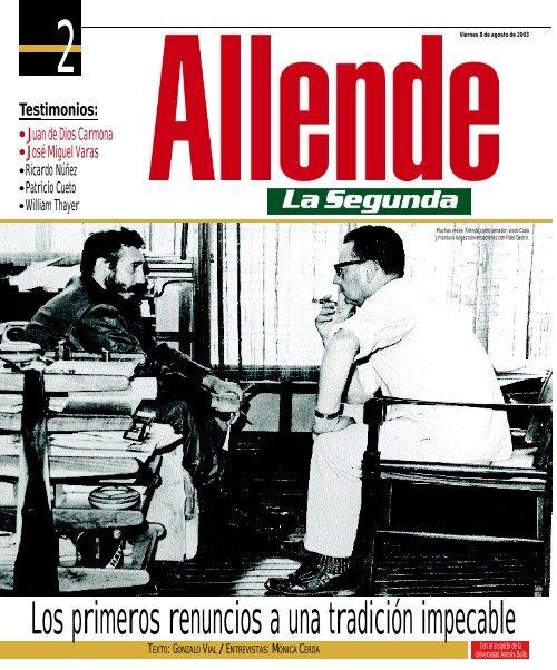 Allende- La Segunda - Salvador Allende