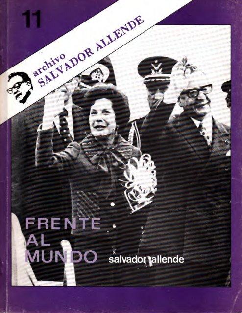 Archivo Salvador Allende N° 11