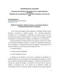 desde el ensayo y la práctica hasta - Universidad del Salvador