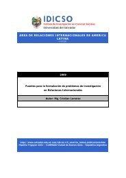 IDICSO - Universidad del Salvador