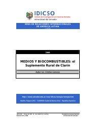 MEDIOS Y BIOCOMBUSTIBLES - Universidad del Salvador