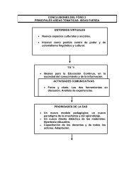 Conclusiones. - Universidad del Salvador