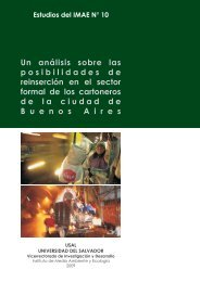Estudios del IMAE N. 10.pmd - Universidad del Salvador