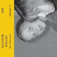 2004 - Salvatorkolleg