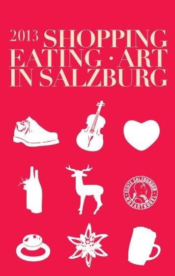 Shopping Guide 2013 PDF Format, 6565 kB - Altstadt Salzburg